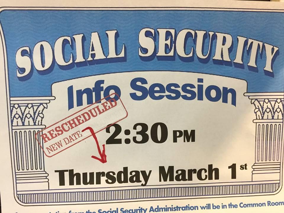 Social Security Presentation