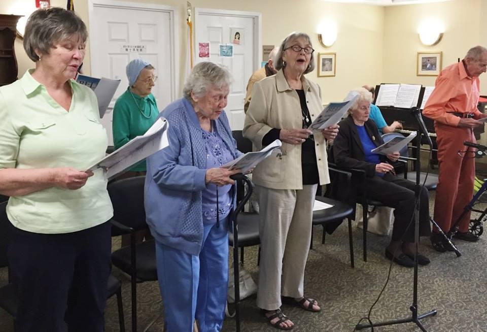 Belles and Beaux seniors singing group entertains!